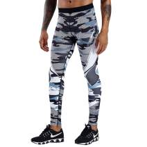 CANGHPGIN Compression Pants Sports Tights for Men Workout Running Baselayer Active Cool Dry Leggings Yoga Tights