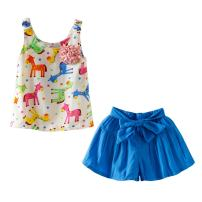 Mud Kingdom Toddler Girl Novelty Outfits Fun Colored Donkey Cute