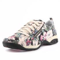 Therafit Shoe Women's Sienna Side Zip Sport Casual Walking Shoe