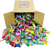 Assorted Candy Party Mix, Appx. 8 LB Bulk - OVER 450 Pieces - Fire Balls, Airheads, Jawbusters, Laffy Taffys, Tootsie Rolls and Much More of Your Favorite Candy!