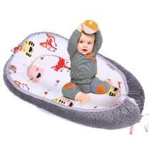 Brandream Baby Nest Bed Woodland Fox Baby Lounger Potable Crib Newborn Cocoon Snuggle Bed Unisex