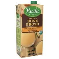 Pacific Foods Organic Turkey Bone Broth, 32oz, 12-pack