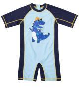 CharmLeaks Baby Boy Girls One Piece Rashguard Swimsuit Sun Protective Bathing Suit
