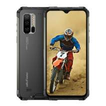 Ulefone Armor 7(2020) Rugged Smartphones Unlocked, Waterproof Rugged Phones Unlocked Android 9.0 8GB +128GB,48MP+16MP+8MP Camera, 6.3' FHD Dual Sim Rugged Cell Phones 4G 5500mA, NFC, Wireless Charge
