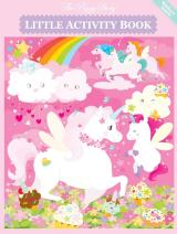 The Piggy Story 'Unicorn Land' Little Activity Booklet for Kids on The Go 2-Pack