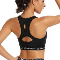 AS ROSE RICH Sports Bras for Women-Moisture-Wicking Design for Comfort and Support