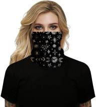 Maisolly Unisex Bandana Face Cover Full Coverage Protection Neck Gaiter Outdoor Covering
