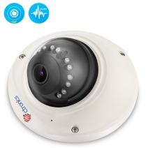 Ctronics Wireless WiFi Camera,720P Home Security Indoor Surveillance Vandal Dome IP Camera 150° Wide View,1-Way Audio,Night Vision,Motion Detect,iOS/Android App,Email Alert,CMS Remote,16G SD Included