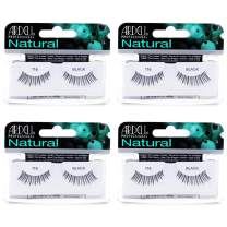 Ardell Natural Lashes False Eyelashes 116 Black (4 pack)