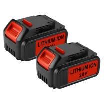 ANTRobut 2 Pack 5.0Ah for Dewalt 20V Battery Replacement Dewalt Battery 20V Max DCB205 DCB203 DCB204 DCB205-2 DCB200 DCB206