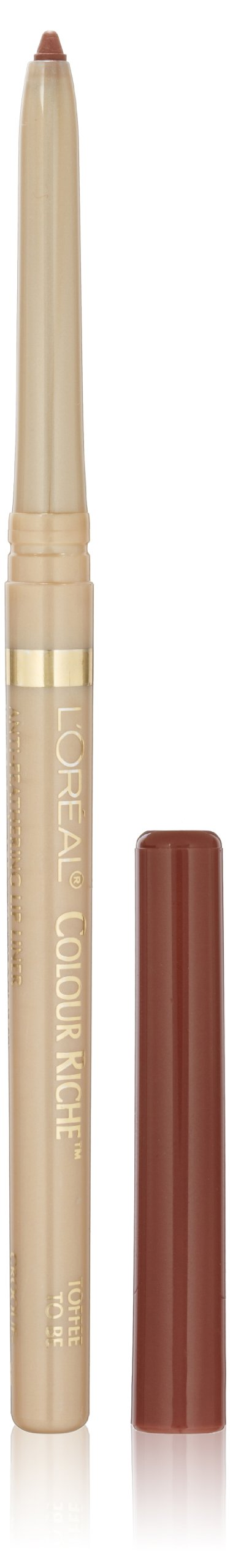 L'OrÃal Paris Colour Riche Lip Liner, Toffee To Be, 0.007 Ounce