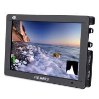 FEELWORLD FW703 7 Inch IPS 3G SDI 4K HDMI DSLR Monitor Full HD 1920x1200 On Camera Field Monitor with Histogram for Stabilizer Cameras Rig