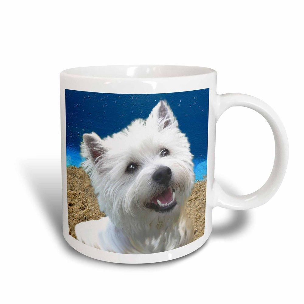 3dRose West Highland Terrier Magic Transforming Mug, 11-Ounce