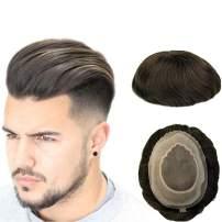 UniWigs Apollo Mono Poly Durable Hair Replacement System For Men (1-jet black)