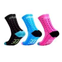 VWU Mens Womens Sports Socks Athletic Socks for Running Cycling Basketball Hiking More