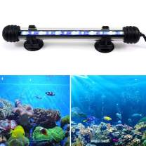 COLOR TREE Submersible LED Aquarium Light, 12V 5050SMD Underwater Strip Light for Fish Tank