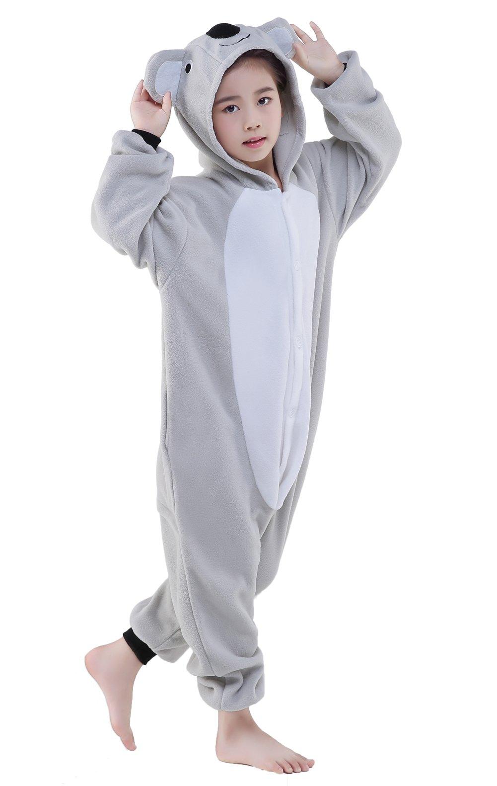 CANASOUR Polyster Halloween Kids Animal Costumes Cosplay Pajamas