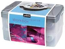 PEBEO Setasilk Studio Workbox Silk Painting Box Set - Pébéo Creative Leisure Kit