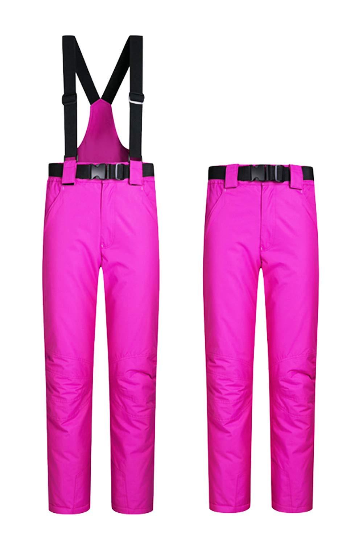 Women's Snow Pants Outdoor Waterproof Windproof Ski Pants Warm Insulated Snowboard Pants 10 Colors