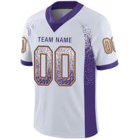 Ballscity Personalized Football Jersey Custom Team Uniforms Printed & Stitched Mesh Design Name&Number for Men/Women/Youth