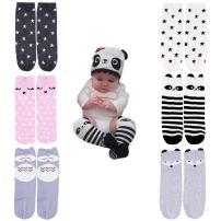 October Elf Unisex Baby Knee High Stockings Tube Socks 6 Pairs …