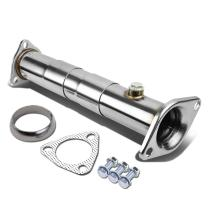 DNA Motoring HFCADJBD25 Stainless Steel Exhaust Performance Pipe
