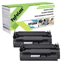 PayForLess for HP 26A CF226A Cartridge 052 Toner Cartridge 2PK Compatible for HP Laserjet Pro M402 M402N M402DN M402DW M402D MFP M426FDW M426FDN M426 M426DW HP26A HP26X CF226X 26X