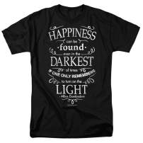 Popfunk Harry Potter Dumbledore Happiness Quote T Shirt & Stickers