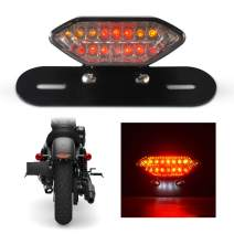 TUINCYN Motorbike Integrated LED Brake Light & Turn Signals Indicator Light Blinker Lamp 2 in 1 Motorcycle Rear Stop Break Light Motor Bulb Mounting Accessories(Pack of 1)