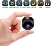 Hidden Camera Spy Camera WiFi Wireless Full HD 1080P Security Camera Night Vision Motion Activated Indoor Outdoor Small Nanny Cam for Cars Home Apartment