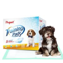 """Thxpet Pet Puppy Training Pads Dog Pee Potty Pad 120 Count 17.5"""" by 23.5"""" Super Absorbent Leak Proof"""
