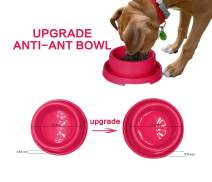 PetLike Dog Bowls Pet Food Bowls, No Spill Cat Bowl Anti Ant Bowl Water Food Feeder Pet Dish for Cat Puppies Small Dogs