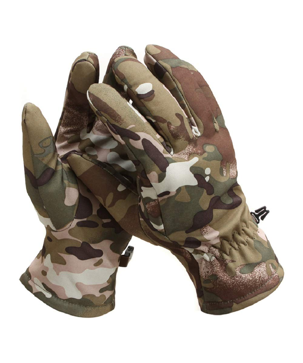 YFNT Men Hunting Gloves Camouflage Lightweight Tactical Shooting Glove
