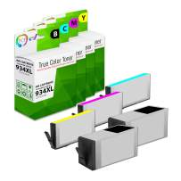TCT Compatible Ink Cartridge Replacement for HP 934XL 935XL Works with HP OfficeJet 6812 6815, Pro 6230 6830 Printers (Black, Cyan, Magenta, Yellow) - 5 Pack