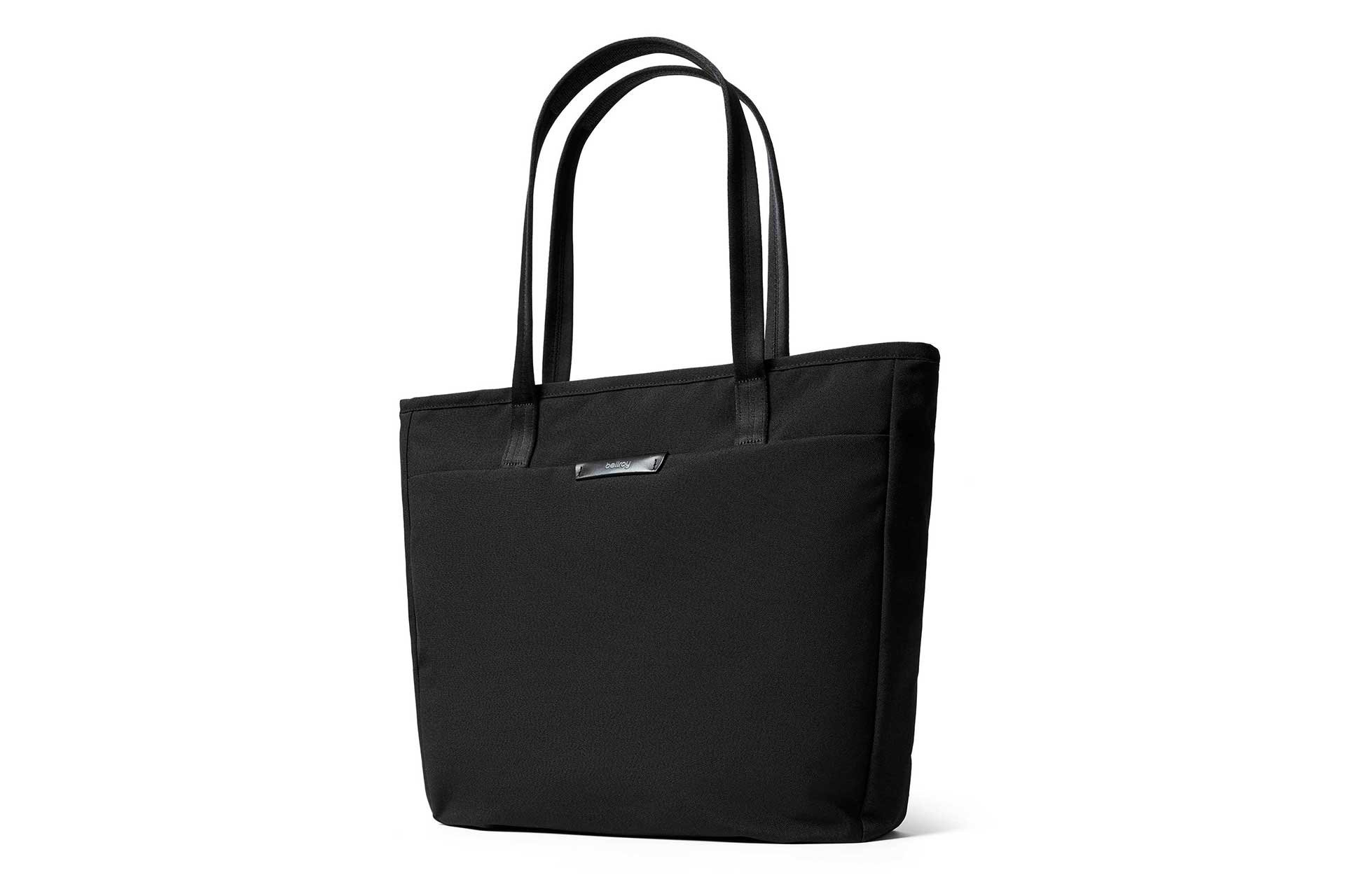 """Bellroy Tokyo Tote, water-resistant woven tote bag (13"""" laptop, tablet, notes, cables, drink bottle, spare clothes, everyday essentials) - Black"""