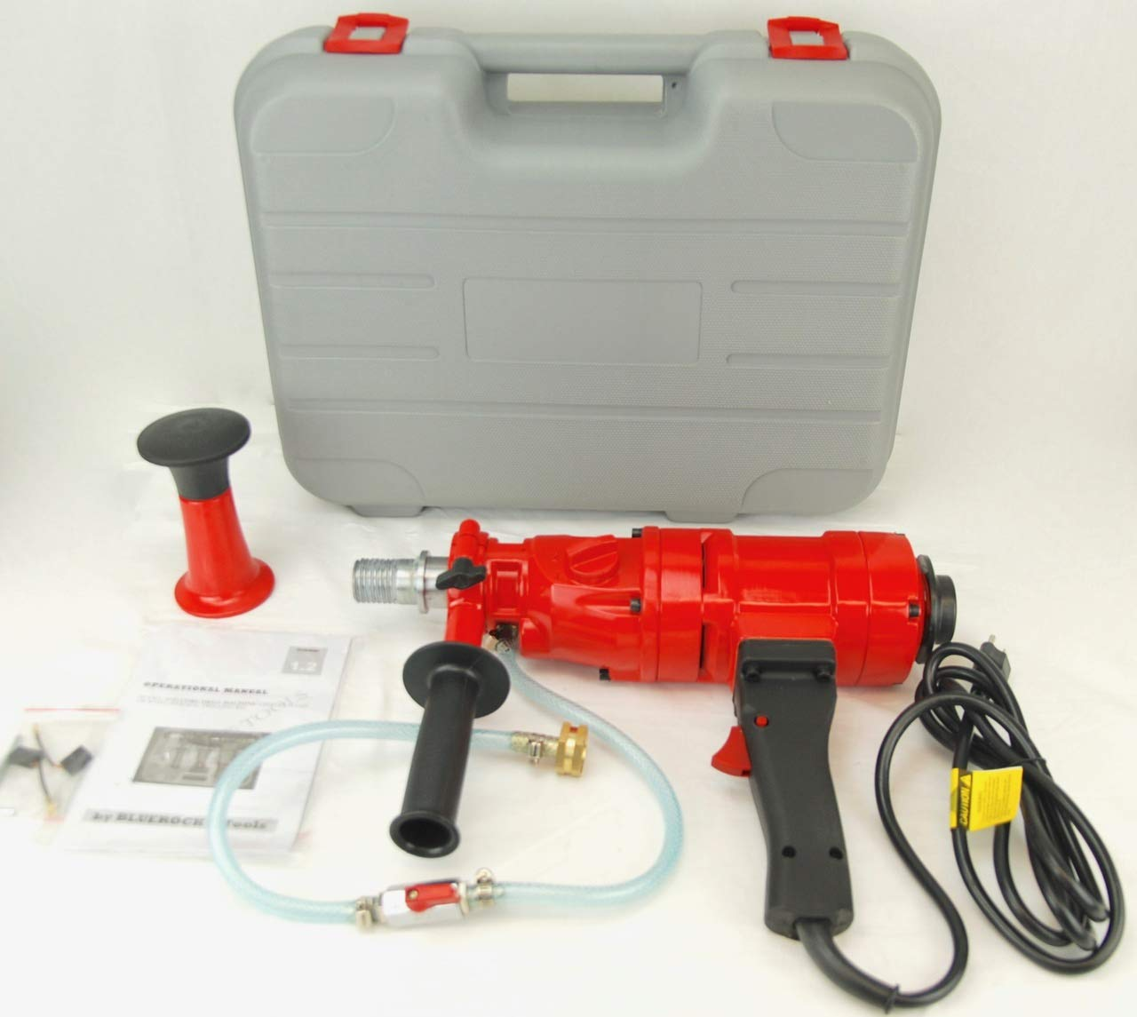 """CORE Drill 4"""" Z-1 2 Speed Concrete CORING Drill by BLUEROCK Tools"""