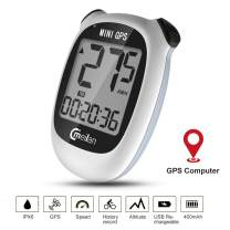 MEILAN M3 Mini Bike Computer GPS Wireless, Bike Speedometer and Odometer Wireless Waterproof with LCD Display, USB Rechargeable 400 MAh Battery GPS Computer for Bike (Ship from US)
