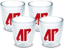 Tervis 1145851 Austin Peay Governors Logo Tumbler with Emblem 4 Pack 12oz, Clear