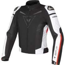 Dainese Men's Super Speed Tex Jacket Black/White/Red 60