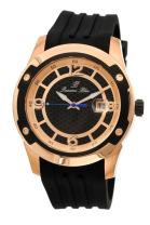 Porsamo Bleu Luxury Tokyo Automatic Silicone Rose Tone & Black Men's Watch 171CTOR