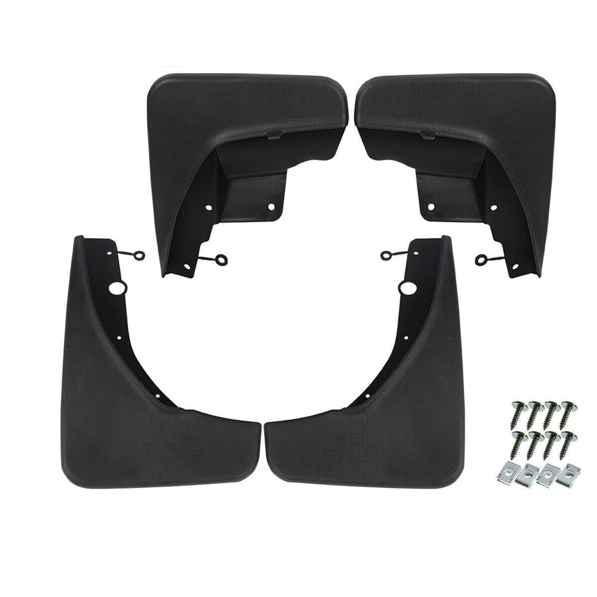 Set of 4 Front and Rear Mud Flaps Splash Guards for Jeep Grand Cherokee 2011-2020