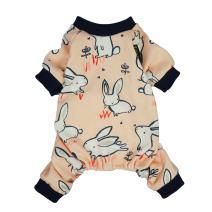 Fitwarm Easter Bunny Cotton Dog Pajamas Pet Clothes Shirts PJS Jumpsuit
