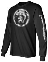 Gadsden and Culpeper Longsleeve T-Shirt Molon w Sleeve Print Black