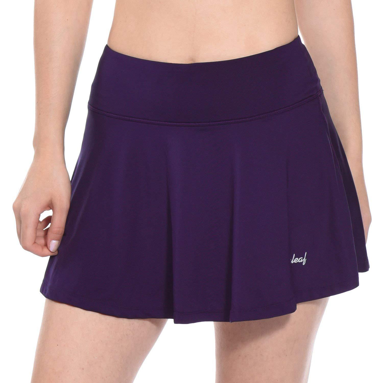 BALEAF Women's Athletic Golf Skirt Tennis Skort Pleated with Pockets