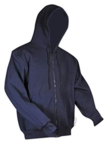 Magid Glove & Safety HC12DHN Dual-Hazard 12.0 oz. FR Zip-Front Hoodie, 3XL