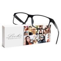 Livho Blue Light Blocking Reading Glasses Reader Eyeglasses Anti Glare Eye Strain Light Weight Women Men