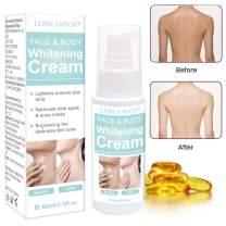 Skin Lightening Cream,Whitening Cream,Brightening Cream,Dark Spot Corrector for Face,Hyperpigmentation,Whitens, Nourishes, Repairs & Restores Skin