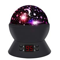 ANTEQI Night Lights for Kids,Star Projector with Timer and 360 Degree Rotating for Boys,Girls Bedroom, Christrmas Gift (Black)