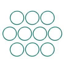 uxcell Fluorine Rubber O Rings, 32mm OD, 28.2mm Inner Diameter, 1.9mm Width, Seal Gasket Green 10Pcs