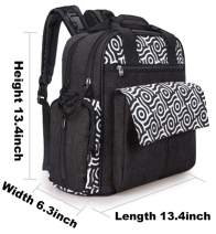 Baby Diaper Bag Tote, Waterproof Large Travel Gear
